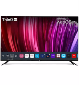 Daiwa D50U1WOS 4K TV Running LG's webOS launches in India